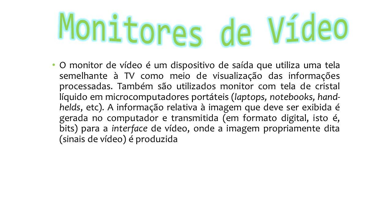 Monitores de Vídeo