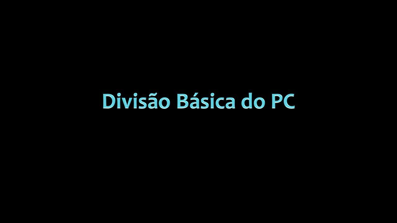 Divisão Básica do PC