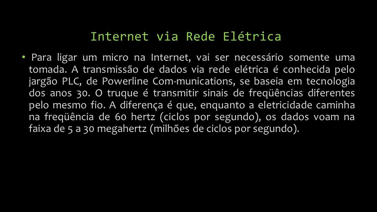 Internet via Rede Elétrica