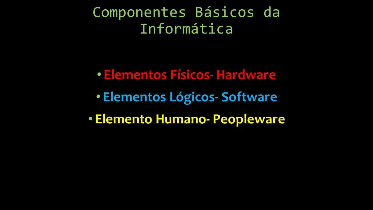 Componentes Básicos da Informática