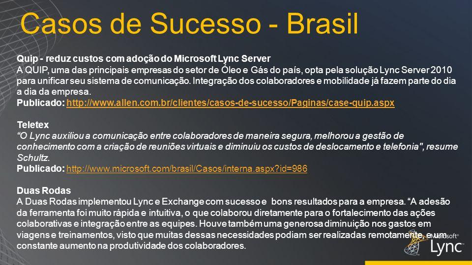 Casos de Sucesso - Brasil