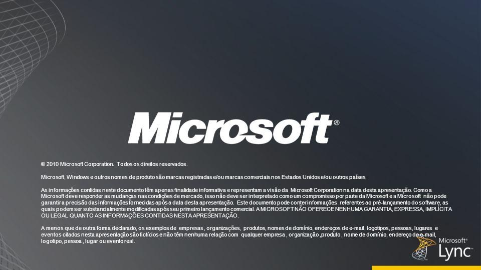 3/30/2017 5:27 PM © 2010 Microsoft Corporation. Todos os direitos reservados.