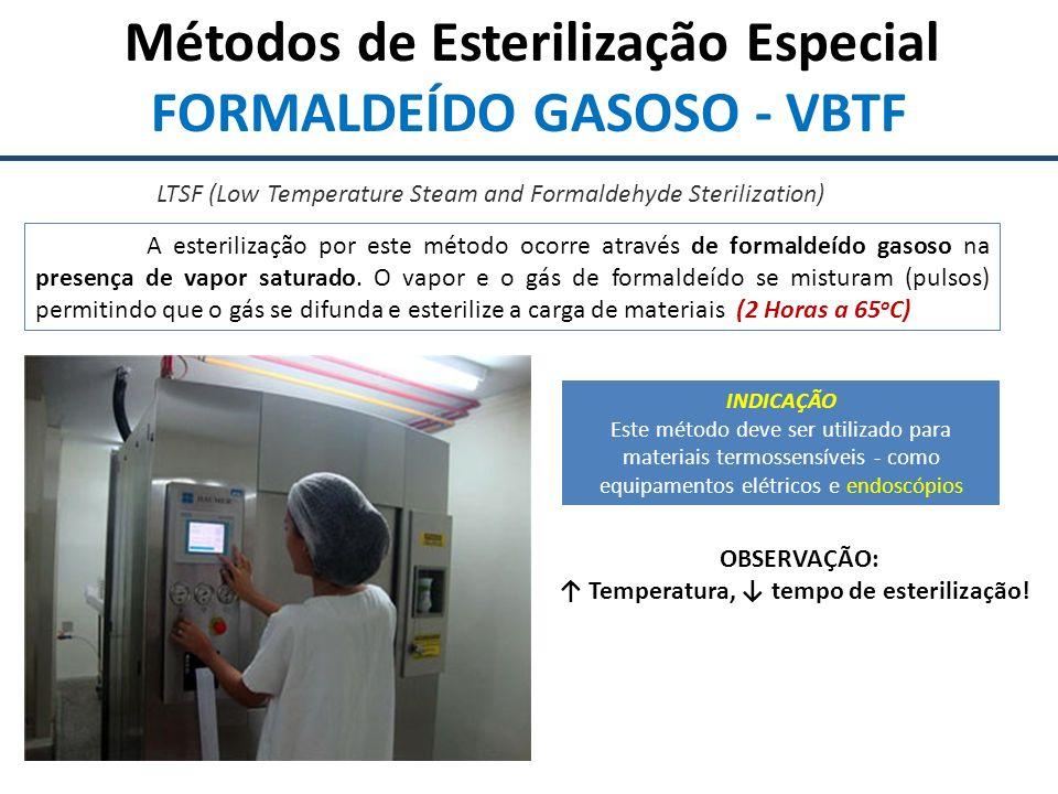FORMALDEÍDO GASOSO - VBTF