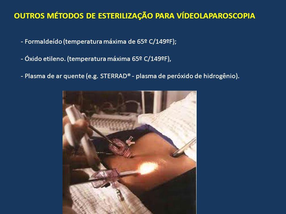 OUTROS MÉTODOS DE ESTERILIZAÇÃO PARA VÍDEOLAPAROSCOPIA
