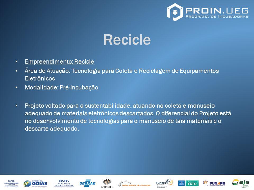 Recicle Empreendimento: Recicle