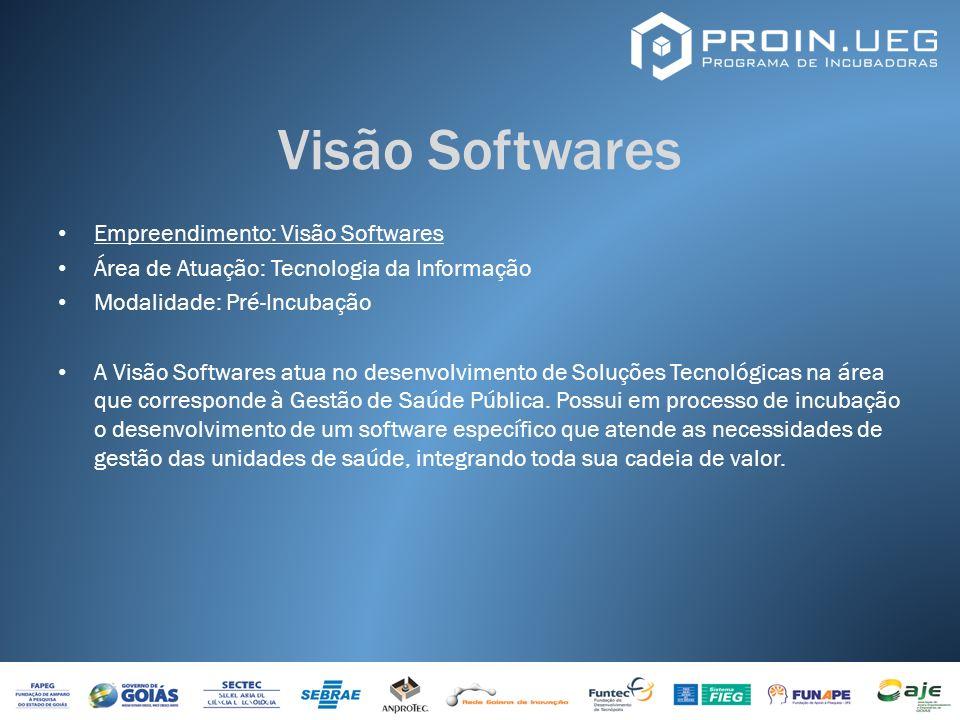 Visão Softwares Empreendimento: Visão Softwares