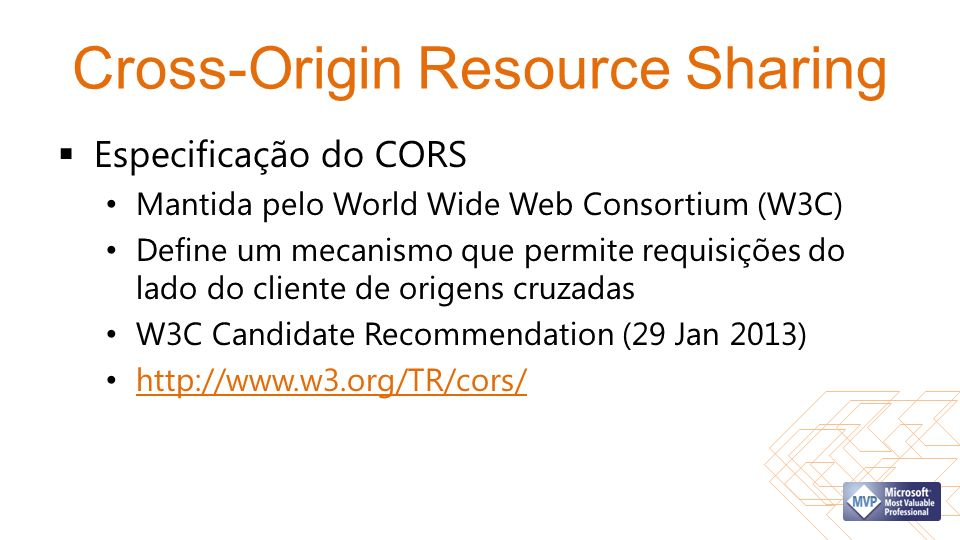 Cross-Origin Resource Sharing