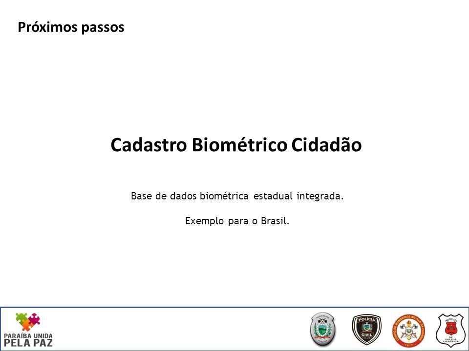 Cadastro Biométrico Cidadão