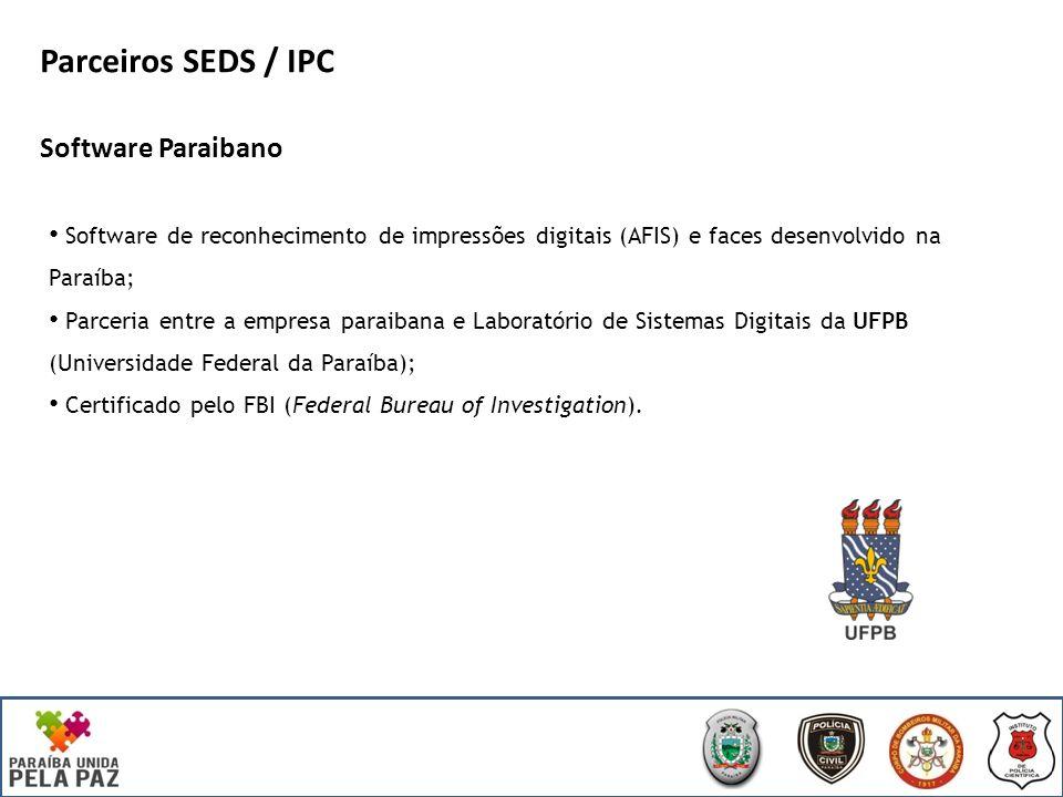 Parceiros SEDS / IPC Software Paraibano