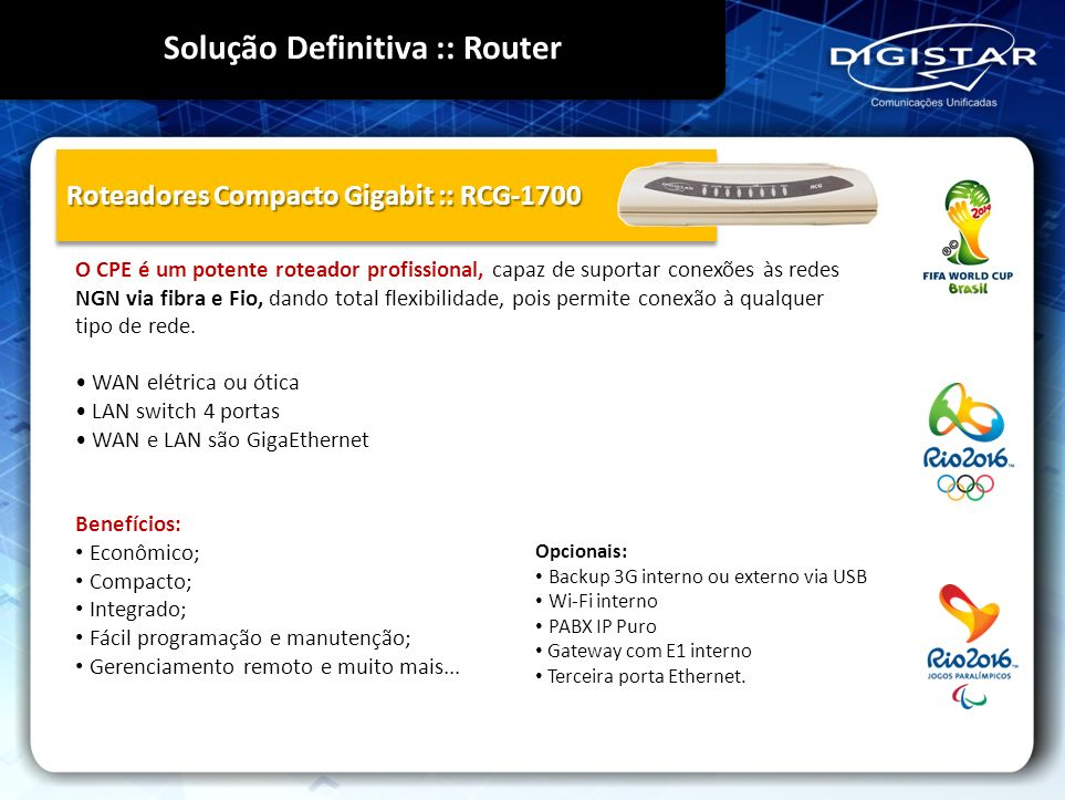 Solução Definitiva :: Router