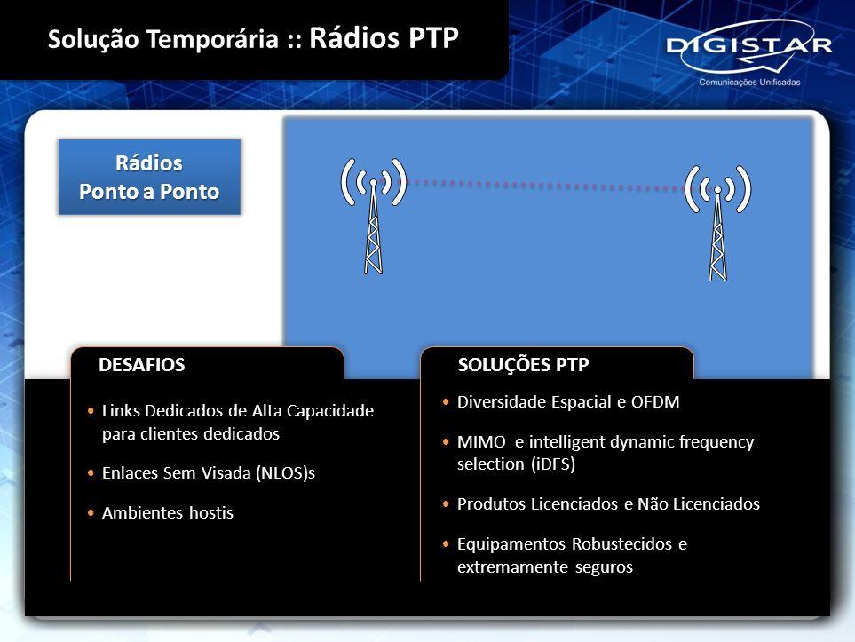 Solução Temporária :: Rádios PTP