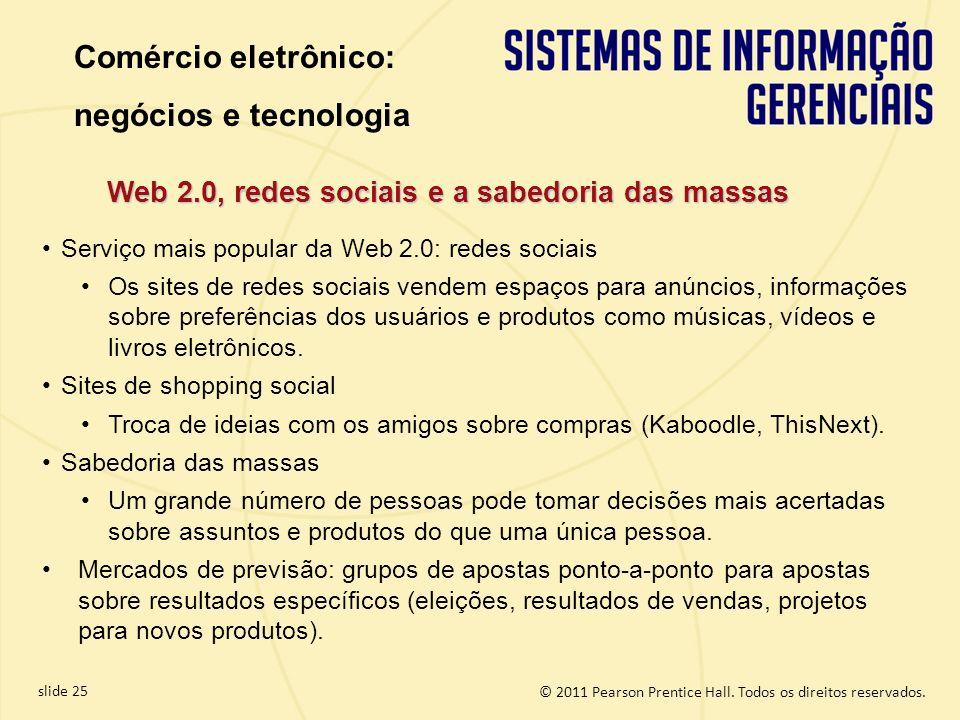 Web 2.0, redes sociais e a sabedoria das massas