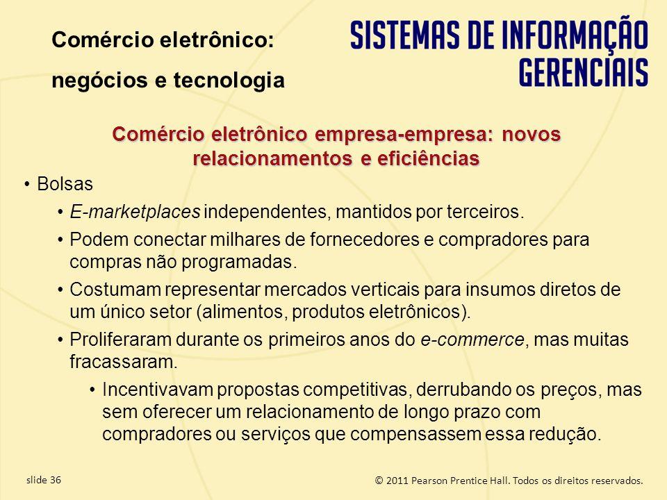 Comércio eletrônico: negócios e tecnologia