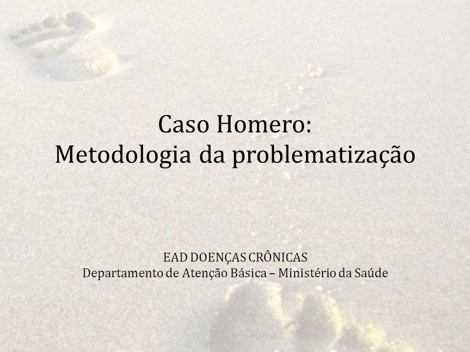 Caso Homero: Metodologia da problematização