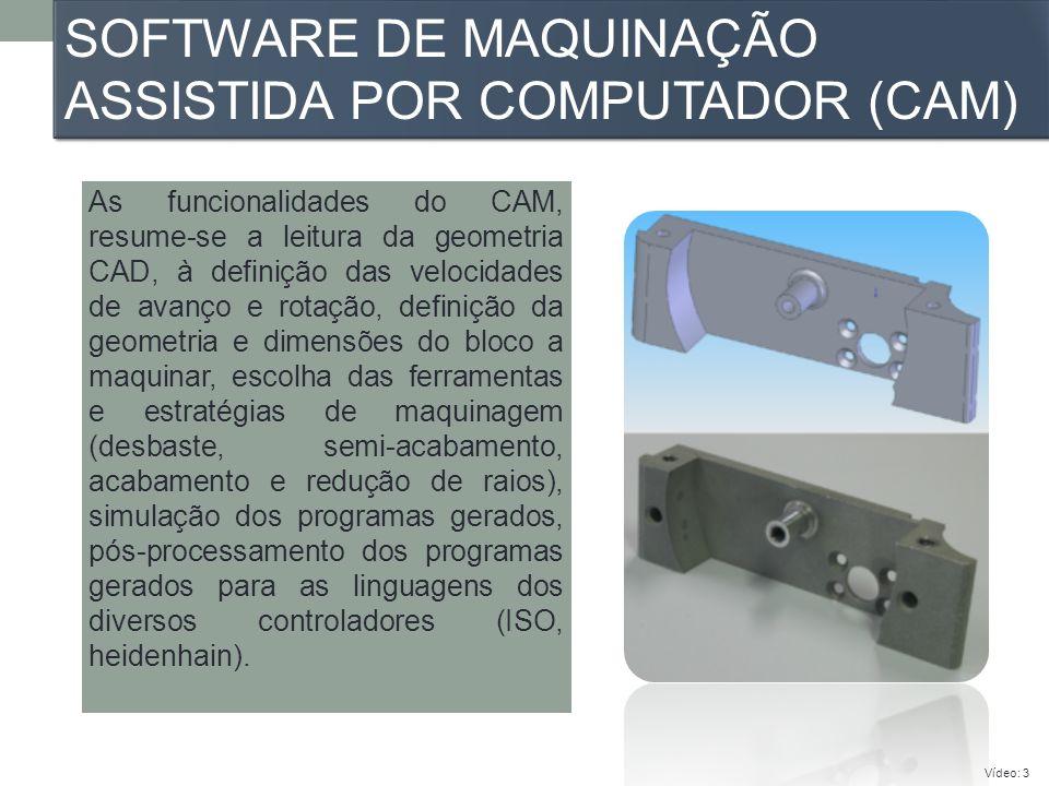Software de maquinação assistida por computador (CAM)