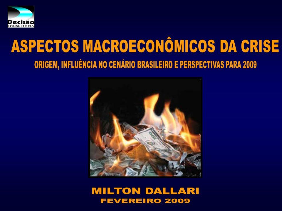 ASPECTOS MACROECONÔMICOS DA CRISE