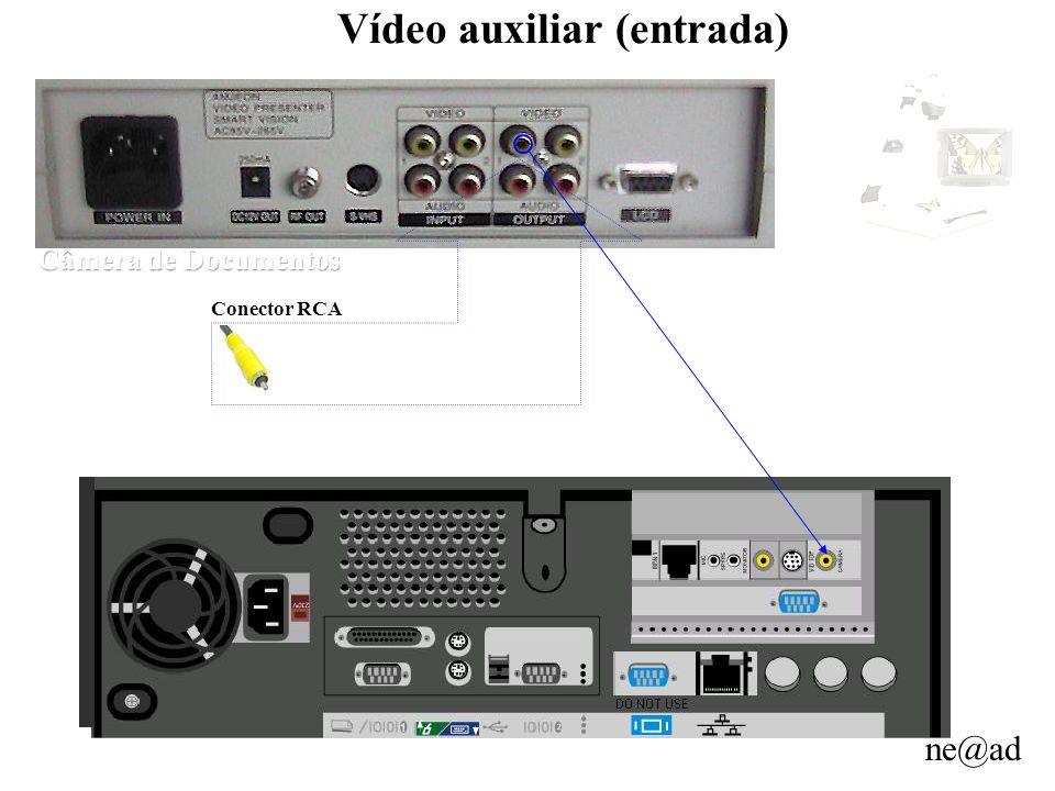 Vídeo auxiliar (entrada)