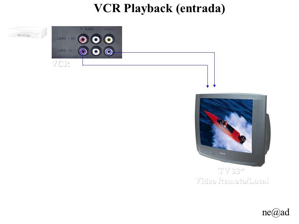 VCR Playback (entrada)