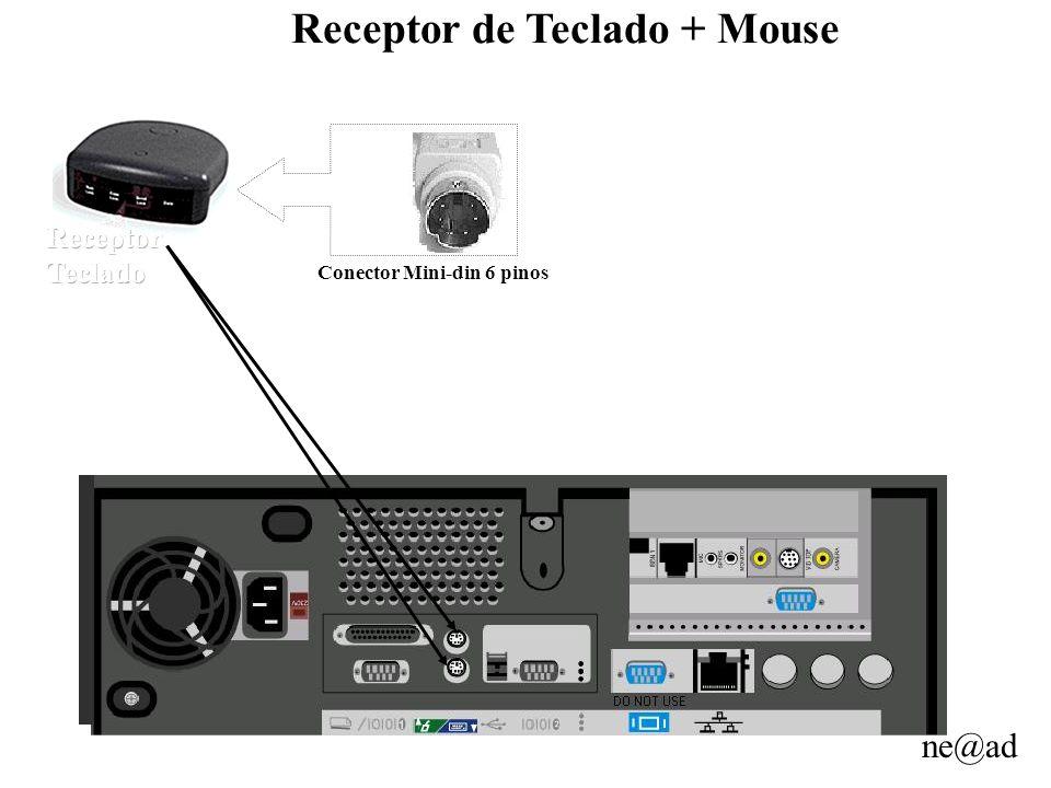 Receptor de Teclado + Mouse