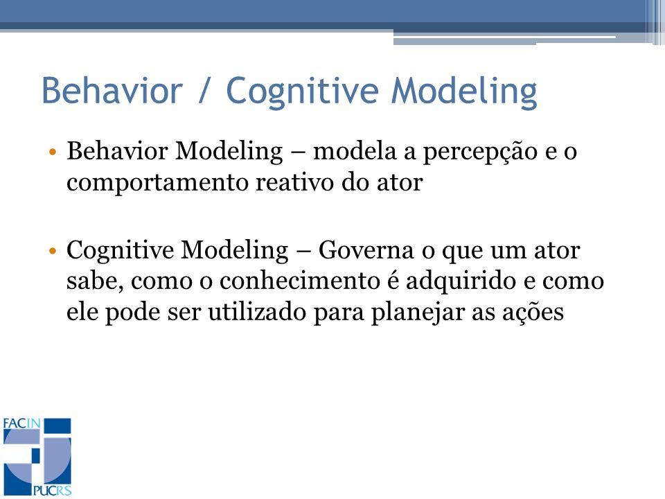 Behavior / Cognitive Modeling