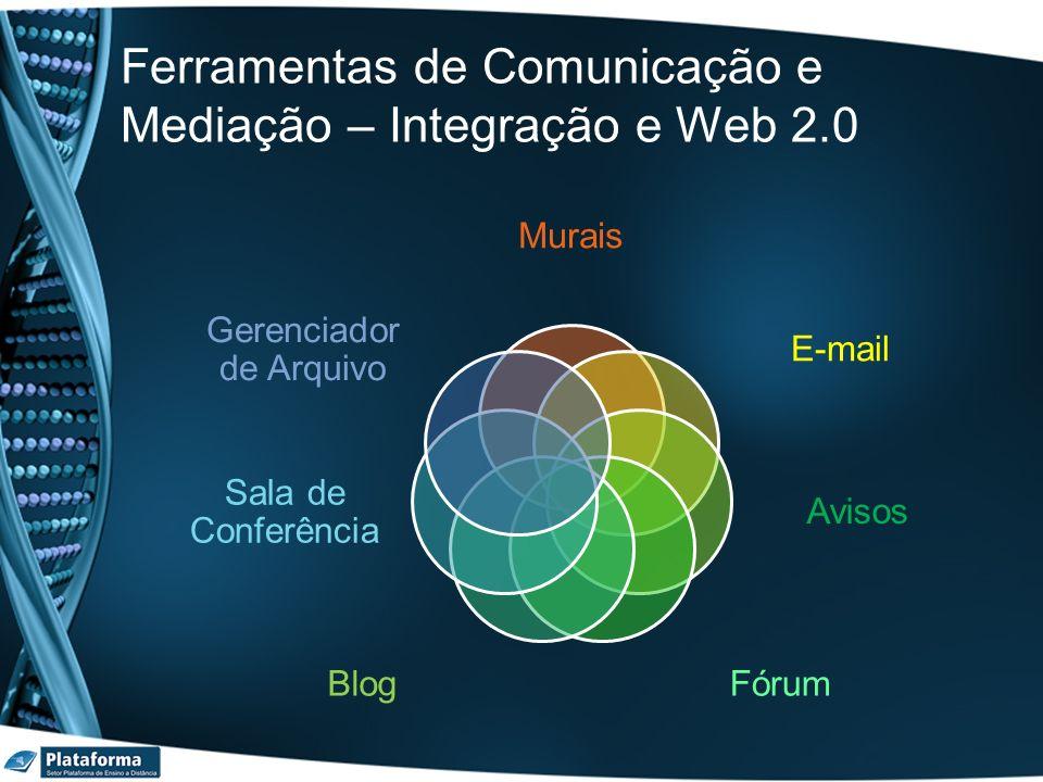 Ferramentas de Comunicação e Mediação – Integração e Web 2.0