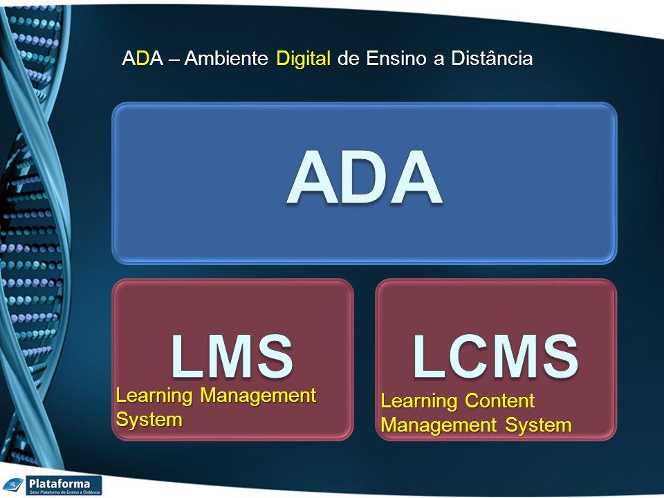 ADA ADA – Ambiente Digital de Ensino a Distância