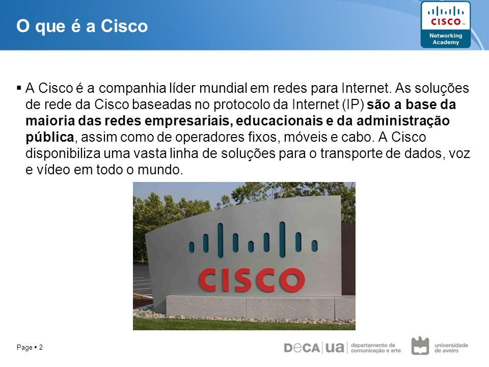 O que é a Cisco