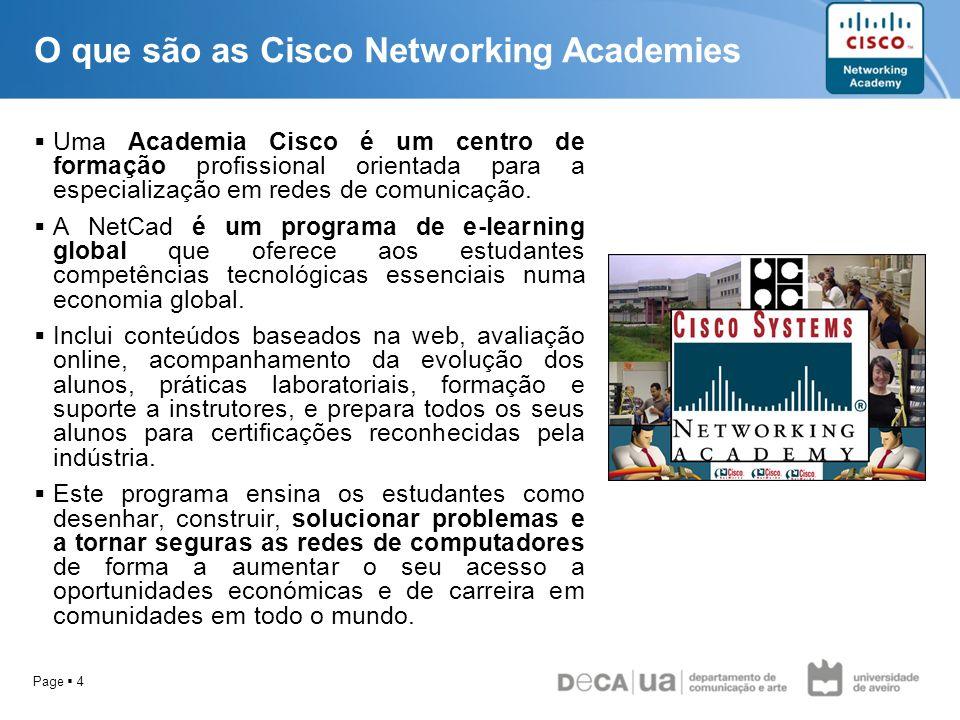 O que são as Cisco Networking Academies