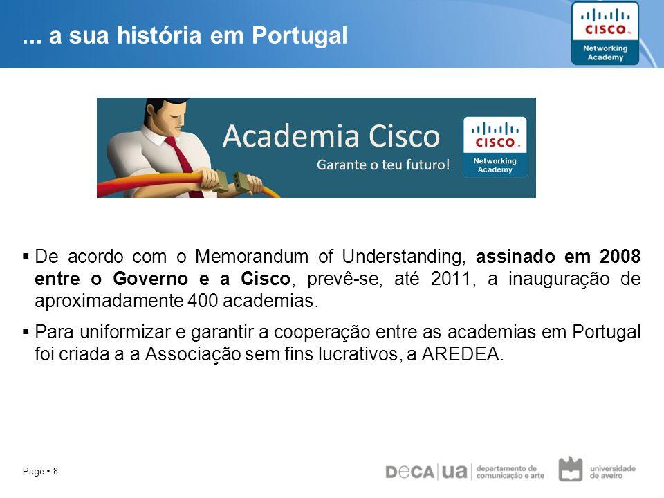... a sua história em Portugal