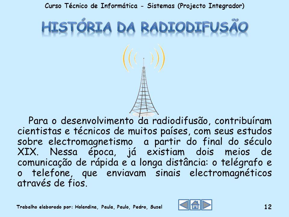 História da Radiodifusão
