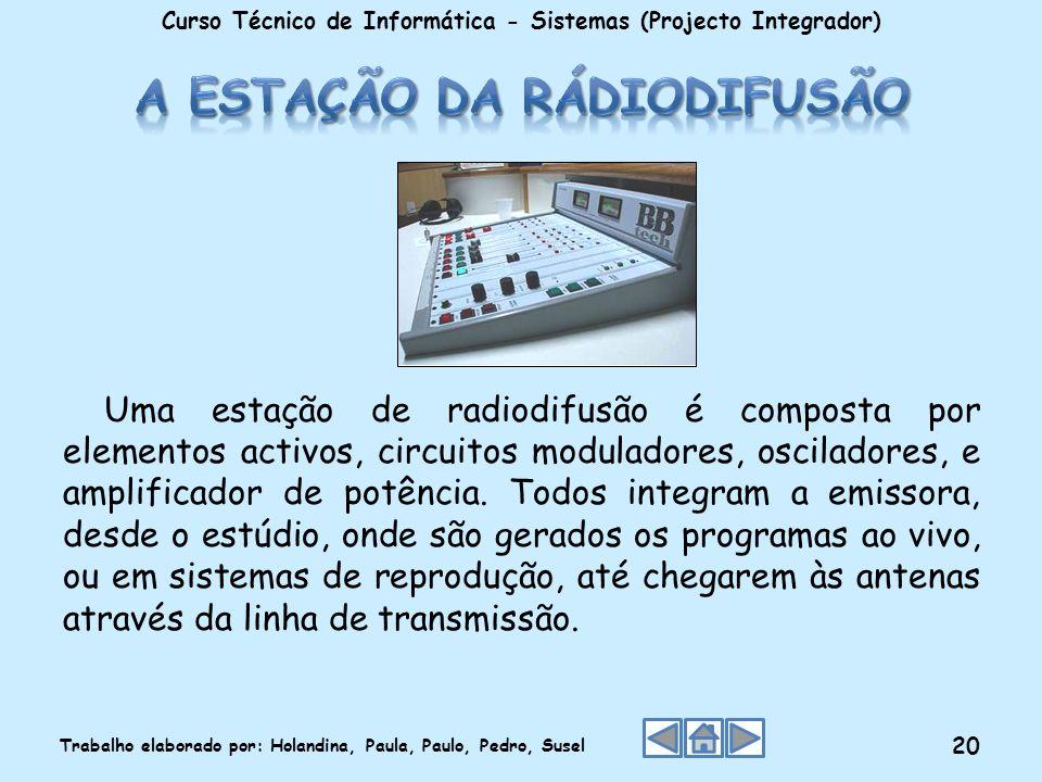 A estação da rádiodifusão