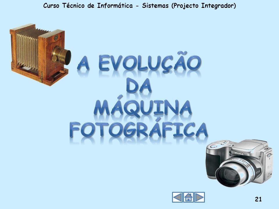 A Evolução da Máquina Fotográfica