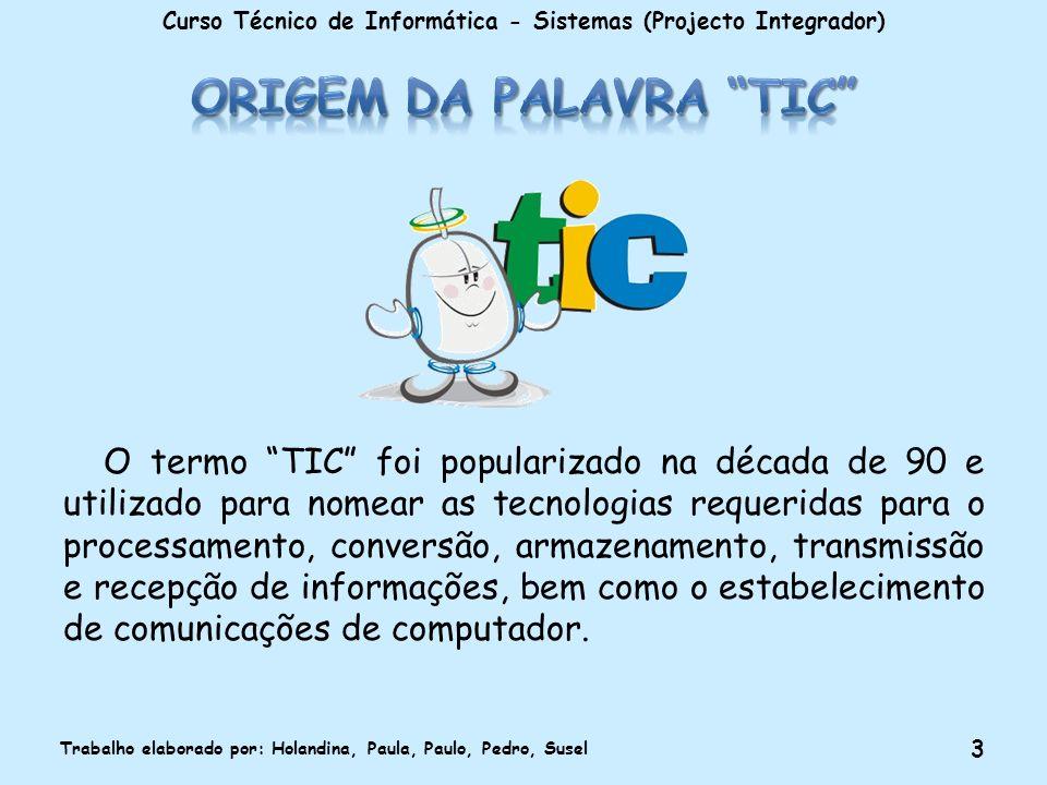 Origem da palavra TIC