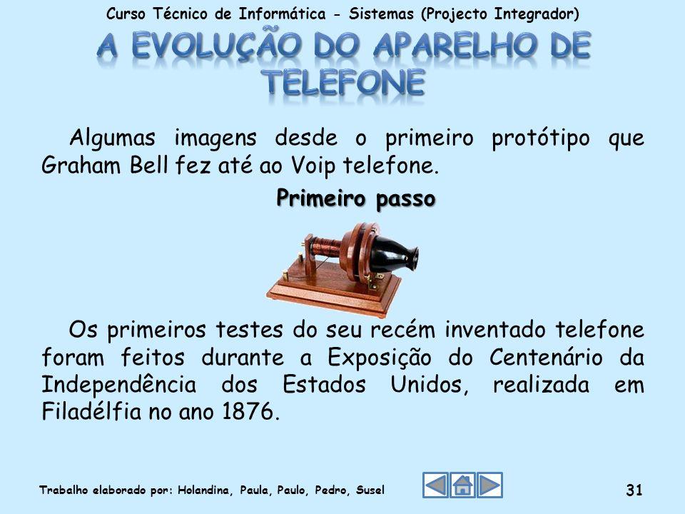A evolução do aparelho de telefone