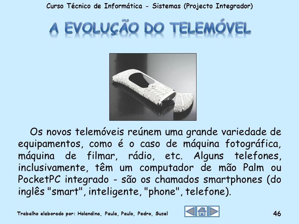 A evolução do telemóvel