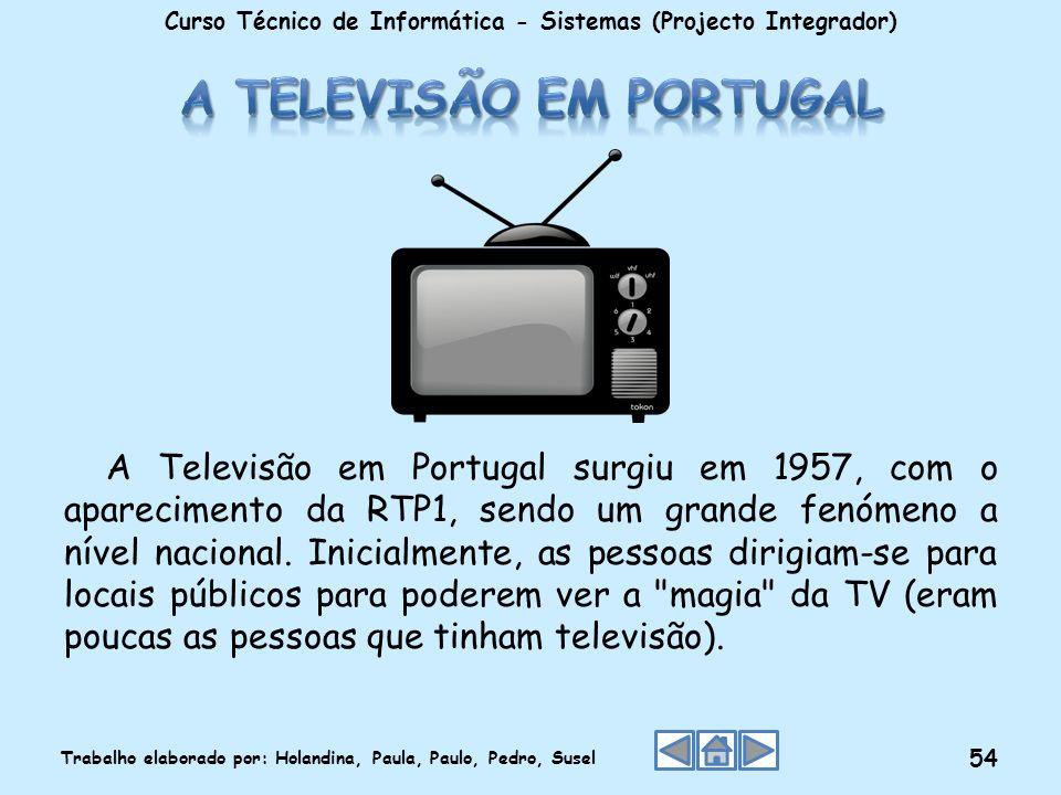 A Televisão em Portugal