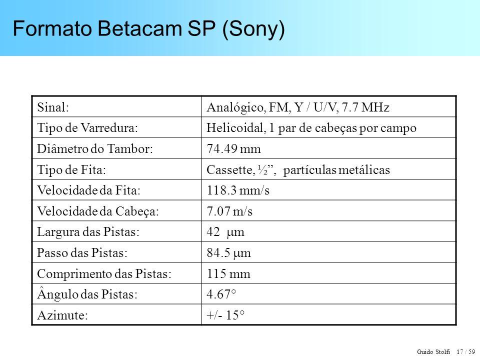 Formato Betacam SP (Sony)