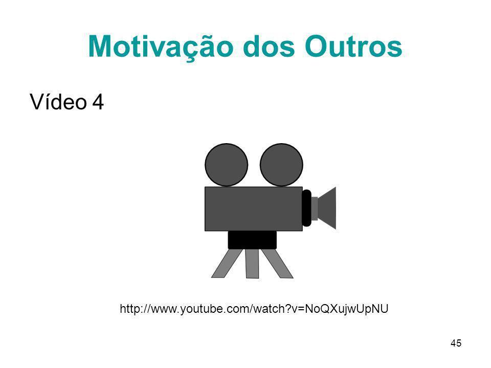 Motivação dos Outros Vídeo 4