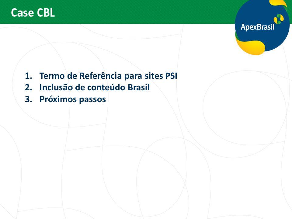 Termo de Referência para sites PSI