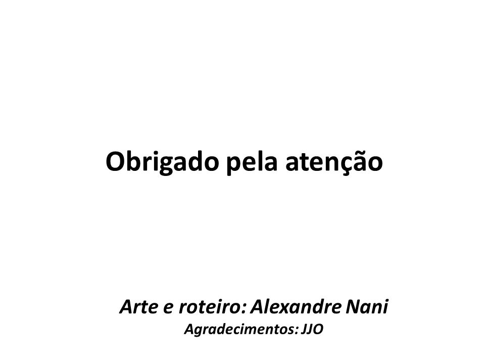 Arte e roteiro: Alexandre Nani