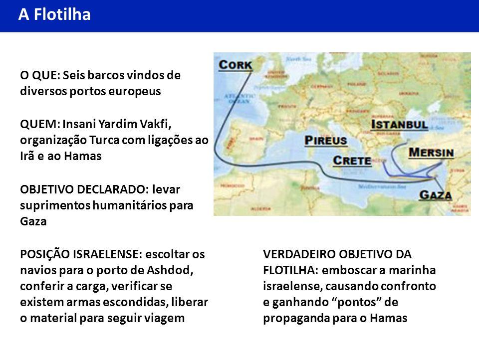 A Flotilha O QUE: Seis barcos vindos de diversos portos europeus