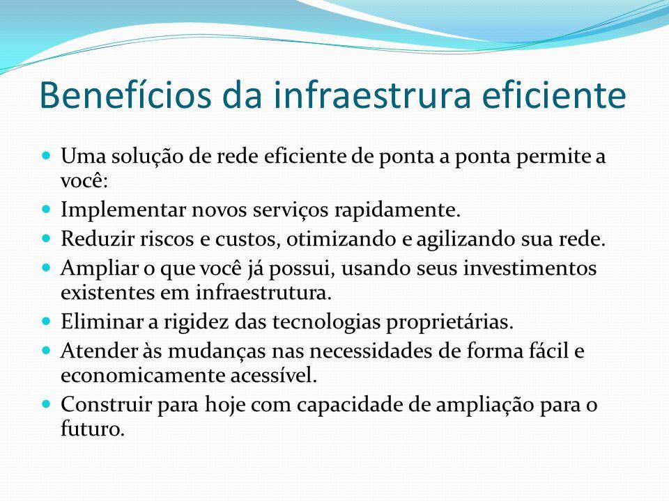 Benefícios da infraestrura eficiente