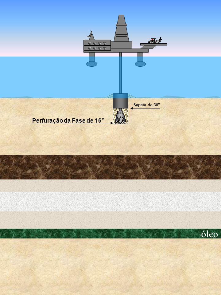 Sapata do 30 Perfuração da Fase de 16 óleo