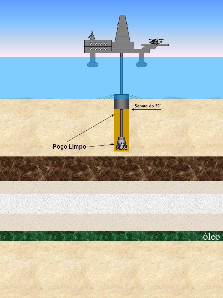 Sapata do 30 Poço Limpo óleo