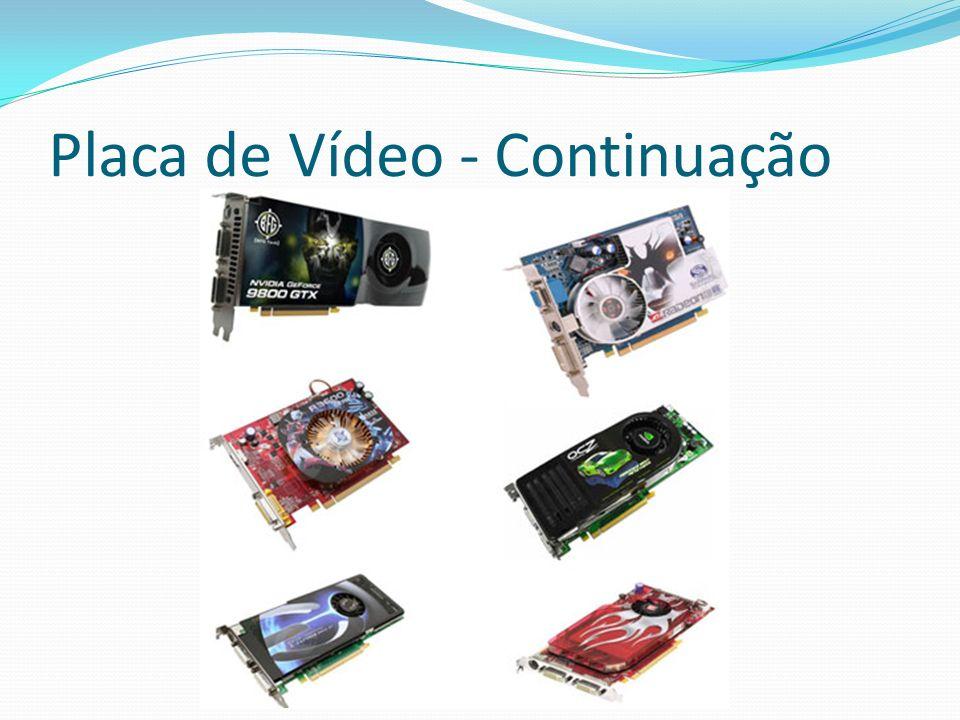Placa de Vídeo - Continuação