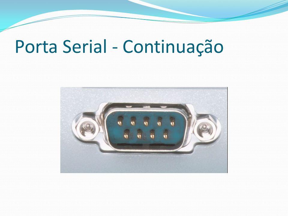 Porta Serial - Continuação