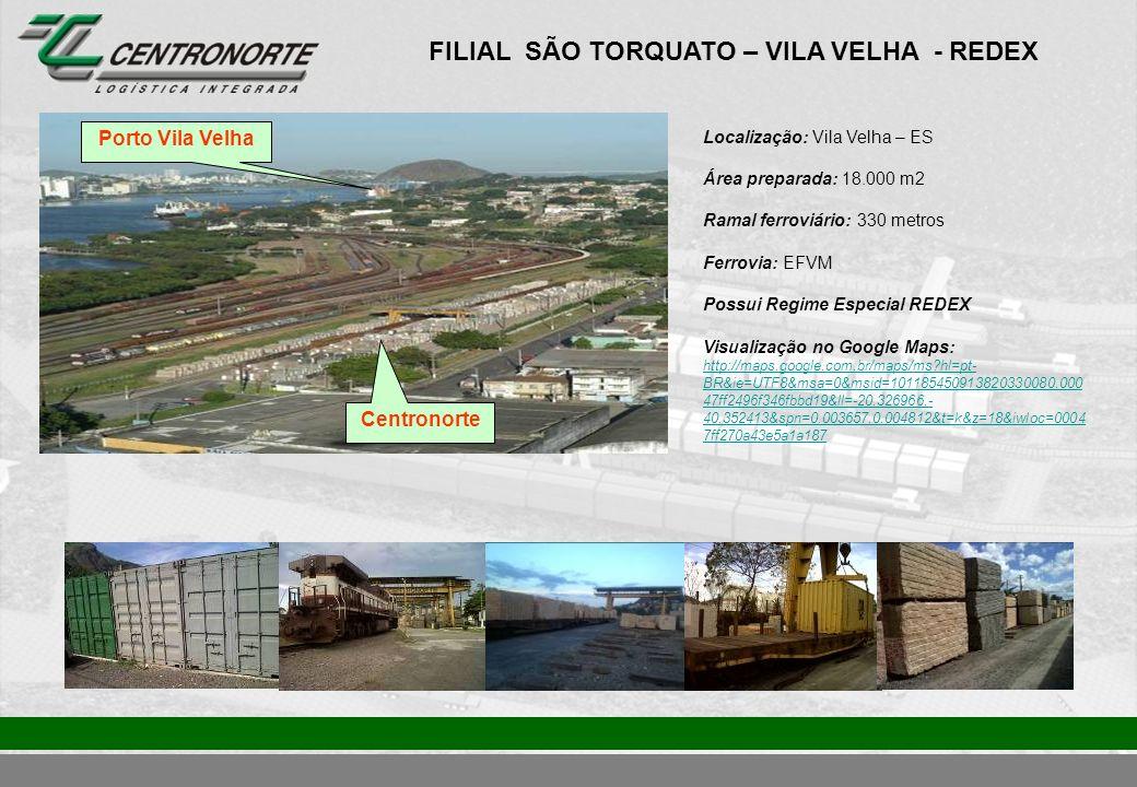 FILIAL SÃO TORQUATO – VILA VELHA - REDEX