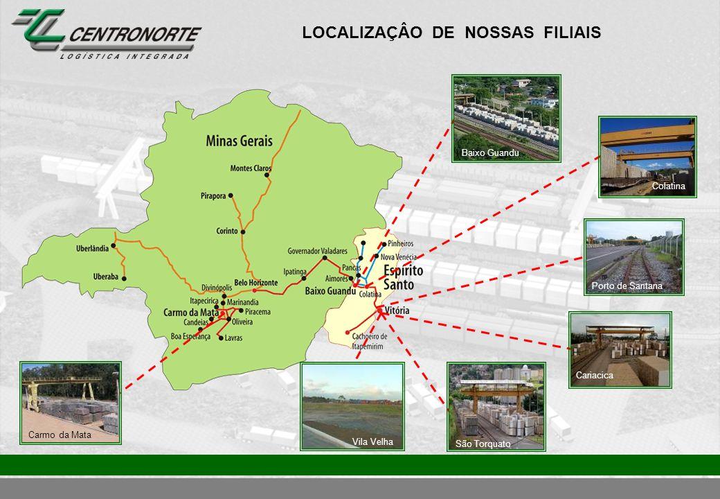LOCALIZAÇÂO DE NOSSAS FILIAIS