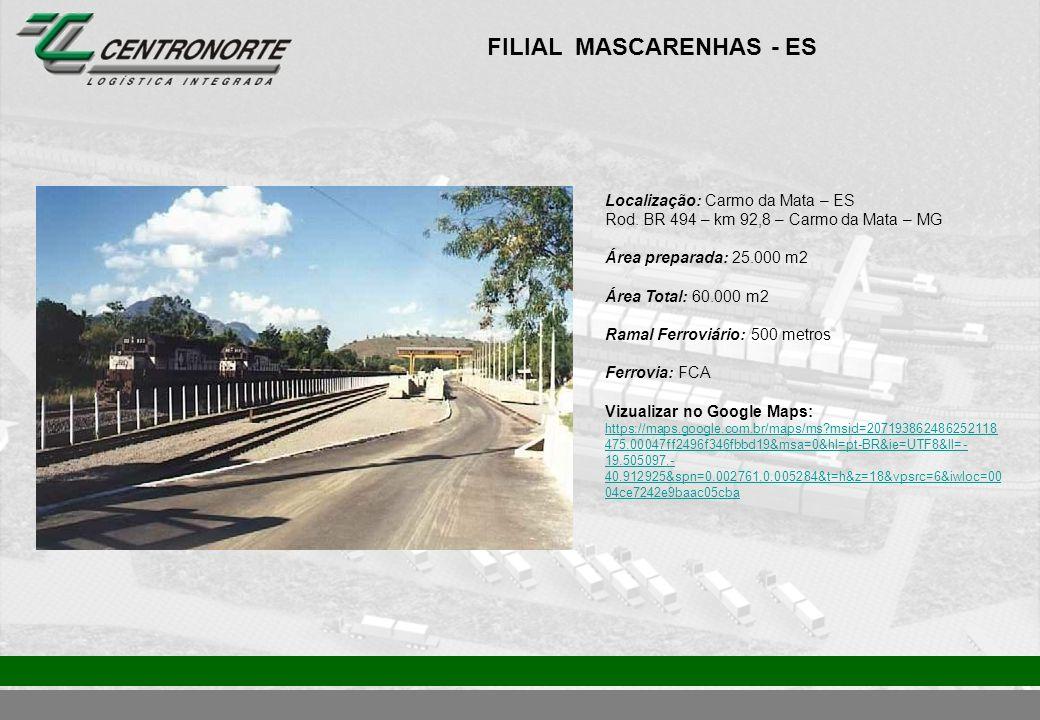 FILIAL MASCARENHAS - ES
