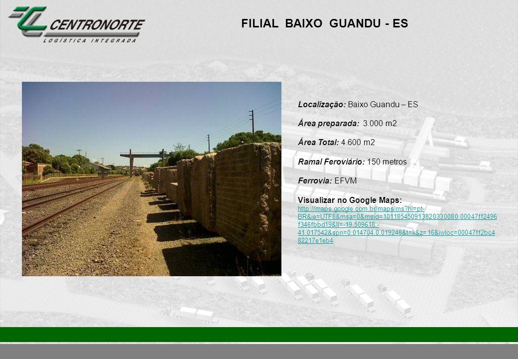 FILIAL BAIXO GUANDU - ES